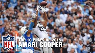 Top 10 Amari Cooper Highlights of 2015 | NFL