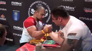 getlinkyoutube.com-European Armwrestling Championship 2013 RIGHT-hand