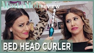 getlinkyoutube.com-Bed Head's Rock n Roller Curling Wand Is Scary And Terrible