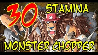 getlinkyoutube.com-Monster Chopper Raid Boss! トレクル One Piece Treasure Cruise JP 30 stamina
