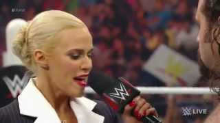 getlinkyoutube.com-Lana is done with Rusev and kisses Dolph Ziggler again - WWE RAW, May 25th, 2015