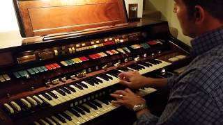 "getlinkyoutube.com-Hammond Elegante - ""The House of the Rising Sun"""