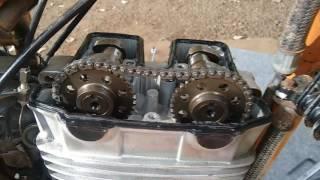 getlinkyoutube.com-Montagem do cabeçote Twister / Tornado 250 / CB300 / XRE300 parte 2