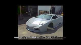 getlinkyoutube.com-Lamborghini Reventon Roadster Replica Kit Car Project Video 1