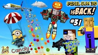 getlinkyoutube.com-Candy Deathmatch Wager! Dad vs. Kids PIXEL GUN 3D is BACK!! (A Sweet FGTEEV Fight - Part 31)