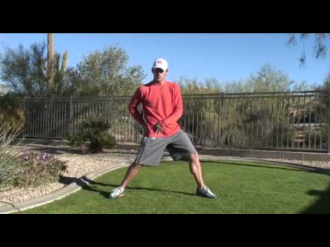 How To Increase Golf Swing Speed - Hip Rotation Stretch Tip