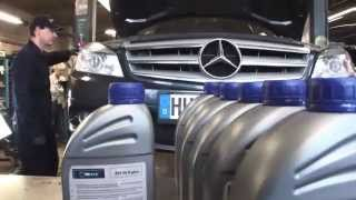 getlinkyoutube.com-Mercedes W204 C-class Automatic Transmission 722.6 Fluid and Filter Change