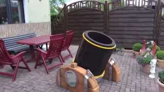 getlinkyoutube.com-Real Life Clash of Clans LV2 Mortar