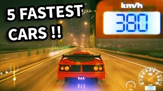 getlinkyoutube.com-Need for Speed 2015 - Top 5 Fastest Cars