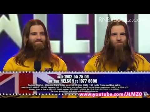 The Nelson Twins - Australia's Got Talent 2012 Final Showdown! - FULL