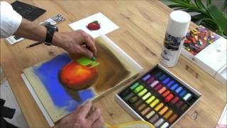 getlinkyoutube.com-How To Begin Painting With Soft Pastels?