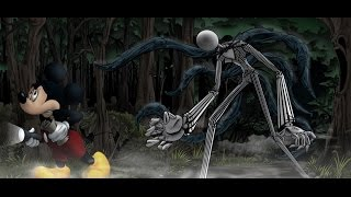 getlinkyoutube.com-Mickey Mouse plays Slender: The Arrival