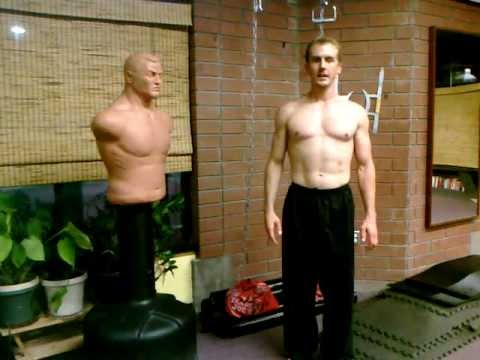 Chinese Qi Gong Posture #3