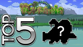 Top 5 RAREST/HARDEST Items To Get In Terraria 1.2.4 iOS/Android