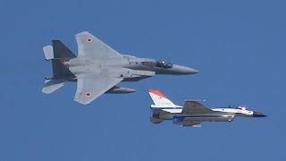 getlinkyoutube.com-2015岐阜基地航空祭予行F-2.F-15 151006