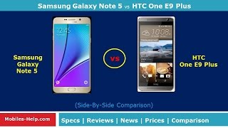 getlinkyoutube.com-Samsung Galaxy Note 5 vs HTC One E9 plus - Which Is Better?