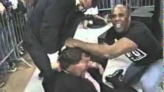 getlinkyoutube.com-Goldberg gets tired of the NWO beatdowns