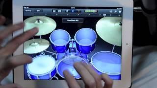 Unterhaltsames Schlagzeugtraining mit dem iPad