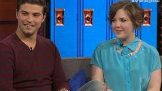getlinkyoutube.com-After Degrassi: Luke Bilyk, Aislinn Paul, Shane Kippel, & Sarah Fisher