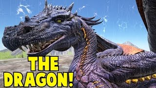 getlinkyoutube.com-The Dragon! Ark Survival Evolved Tamed