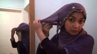 getlinkyoutube.com-Cara Memakai Jilbab   Kerudung Pesta   ExBelo blogspot com