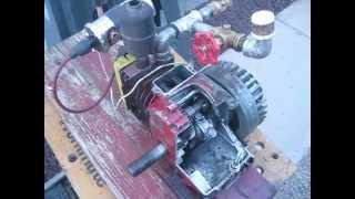 getlinkyoutube.com-Homemade open crank Briggs