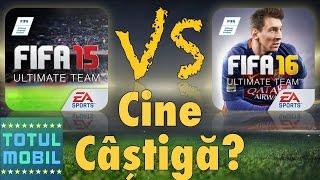 FIFA 15 VS FIFA 16 - iPhone/iPad/Android (Romania) width=