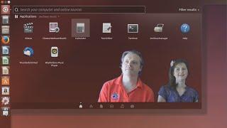 getlinkyoutube.com-Dad Tries Out Ubuntu 14.10 (2014) With Mum Watching