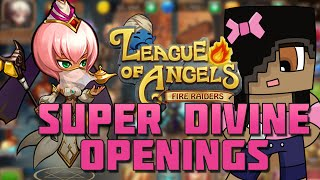 getlinkyoutube.com-Super Divine Card Draws | League of Angels: Fire Raiders IOS Android Mobile Game
