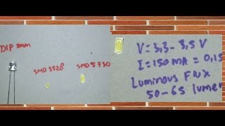 getlinkyoutube.com-Perbedaan Lampu LED SMD Dengan LED DIP 5mm