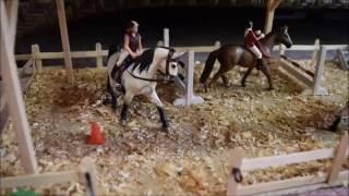 getlinkyoutube.com-Schleich Horse Barn Tour Silver Star Stables June 2016