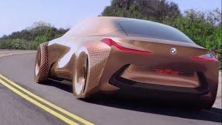 getlinkyoutube.com-BMW Vision Next 100 - interior Exterior and Drive