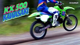 getlinkyoutube.com-Kawasaki KX500 2-Stroke DirtBike (Raw)