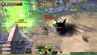 getlinkyoutube.com-Tree of Savior - Bokor PVP vs 2 Psychokino (救世主之樹-邪靈祭司 GVG)