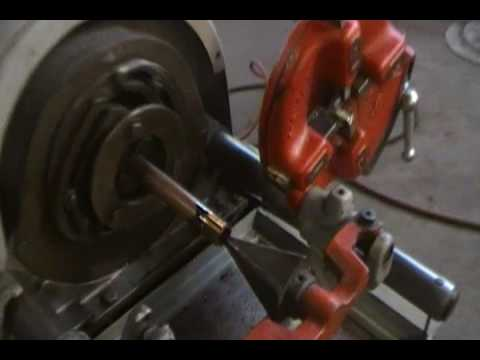 RIDGID POWER PIPE THREADING MACHINE - Norman Machine Tool Ltd.