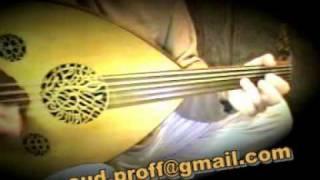 getlinkyoutube.com-Masud Cemil Bey's Semai on Oudعزف عود، سماعي نهاوند-مسعود الطنبوري