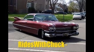 getlinkyoutube.com-1959 Cadillac We Go For A Ride!  Air Bag Suspension! Yes!