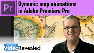 Dynamic map animations in Adobe Premiere Pro
