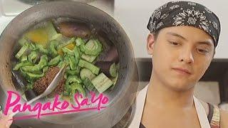 getlinkyoutube.com-Pangako Sa'Yo: Angelo cooks for Joy