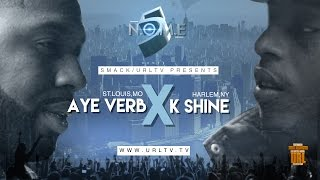 AYEVERB VS K-SHINE  SMACK/ URL (OFFICIAL VERSION)