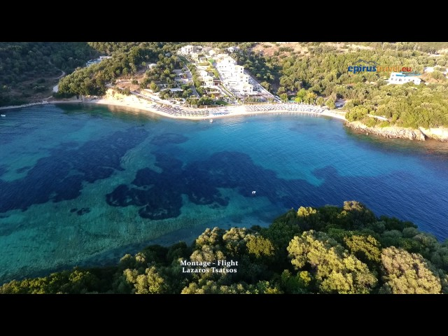 Saint Paraskevi beach, In Perdika - flight