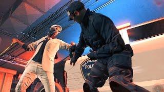 getlinkyoutube.com-Watch Dogs 2 Rampage vs 5 Stars Police Shootout