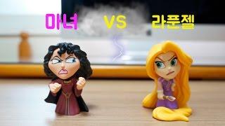 라푼젤과 마녀의 결전! (귀여운 안나와 거대 올라프도 나와요ㅋ) * 디즈니 장난감 애니메이션 * 카일TV * Princess Rapunzel vs Gothel