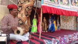 Amazing... Traditional Kathputli Dance of Rajasthan (Jaipur)