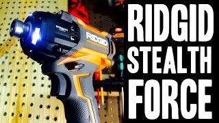 getlinkyoutube.com-RIDGID Gen5X Stealth Force 18v Brushless Oil Pulse Driver R86036K (Impact Driver)