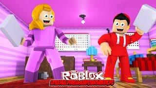 getlinkyoutube.com-LITTLE KELLY HAS A SLEEPOVER WITH ROPO! Roblox