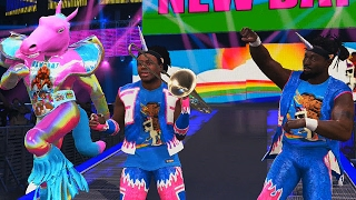 getlinkyoutube.com-WWE: The New Days presents their newst Member - WWE 2K17
