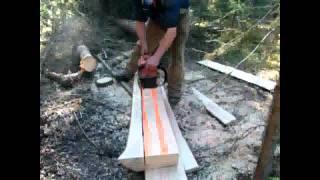 getlinkyoutube.com-Blue Lake Gold Mining, Digging a Test Shaft part 2
