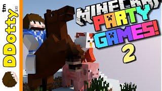 getlinkyoutube.com-종합선물 세트!! [파티 게임즈 2: 미니게임 모음] - Party Games 2 - 마인크래프트 Minecraft [도티]