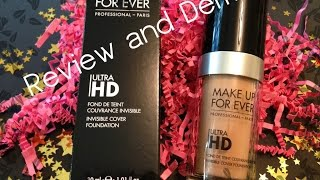 getlinkyoutube.com-Make Up For Ever Ultra HD Foundation Review and Demo